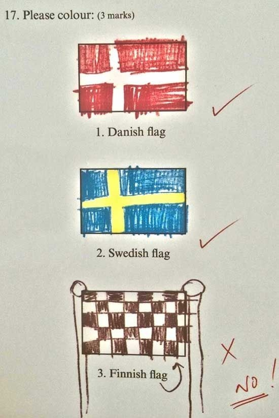Flags Exam Answer.jpg