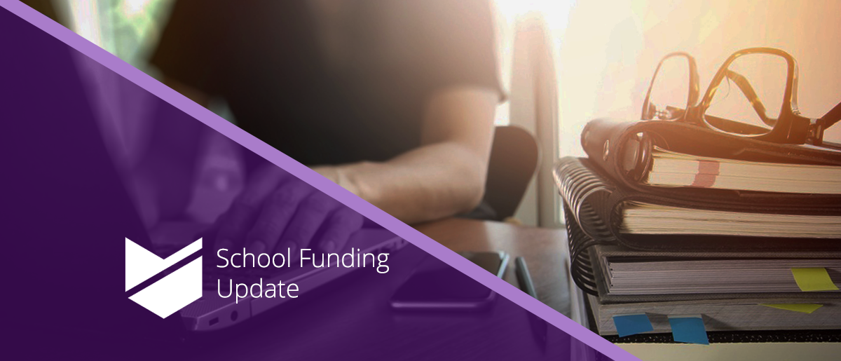 School Funding Update Banner
