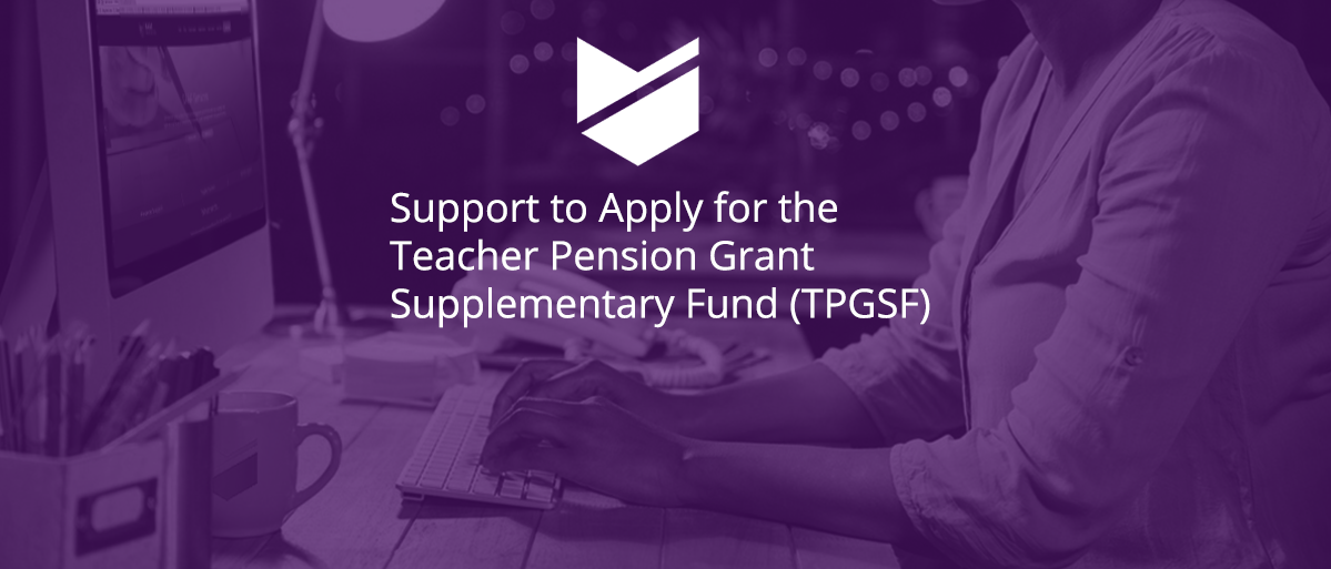 Teacher pension Grant Supplementary Fund v2