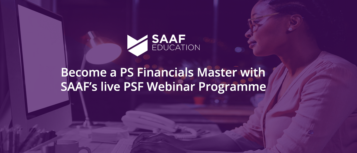 Become a PSF Master with our Live Webinar Programme